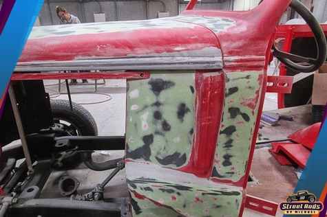 37 Chevy Paint Job