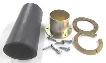 Tanks Bolt-On Fuel Neck Kit with Connecting Hose