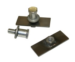 Bear Claw Pin Latch Plates