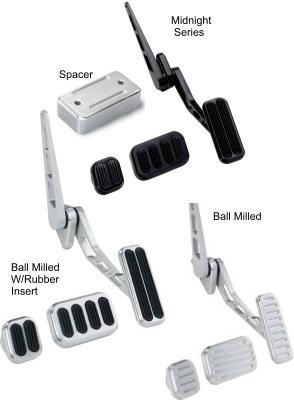 Lokar Billet Aluminum Standard Throttle Assemblies and Pedal Pads