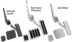 Lokar XL Series Billet Aluminum Thottle Assemblies and Pedal Pads