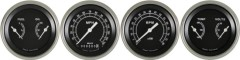 Classic Instruments Traditional Series 4 Gauge Speedo/Tach/2 Duals Set