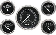 Classic Instruments Traditional Series 5 Gauge Speedtachular Set