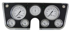Classic Instruments 1967-1972 Chevy Truck Gauge Set - White Hot Series