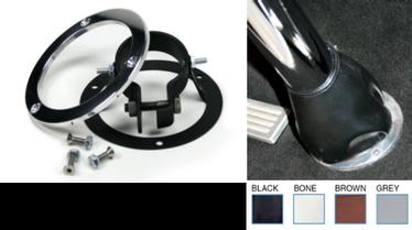 Ididit Adjustable Floor Mount w/Trim Kit