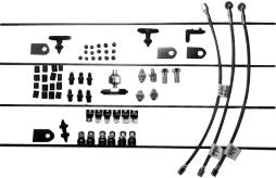 Pure Choice Motorsports Stainless Steel AN Brake Line Kit