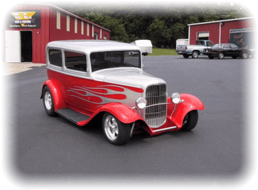 Dan Barbeau's 1932 Ford Tudor Sedan and Delivery