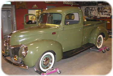 Cusey Ray's 1940 Ford Truck