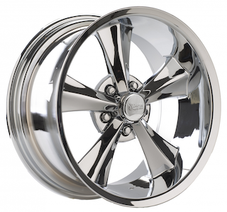 Rocket Racing Wheels - Rocket Chrome Booster Series