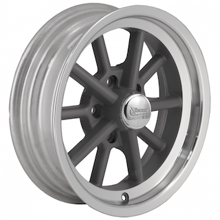 Rocket Racing Wheels - Rocket Gray Launcher Series