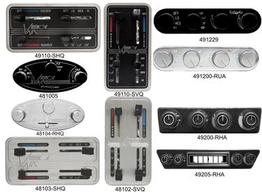 """Base Model Horizontal Gen II 4 Lever Fingertip Control Panel 4.63/"""" x 2.44/"""""""