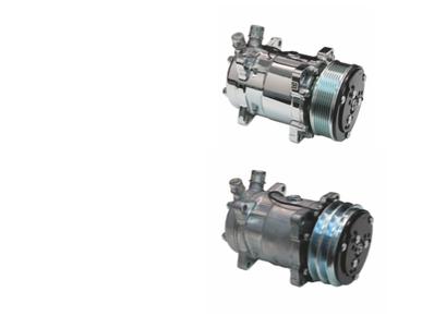 Sanden SD709 A/C Compressor V-Belt or Serpentine