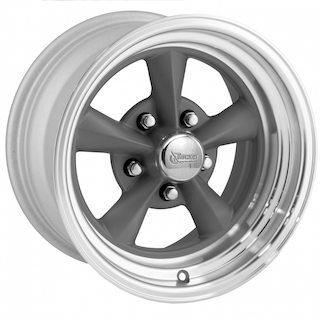 Rocket Racing Wheels - Rocket Gray Fuel Series