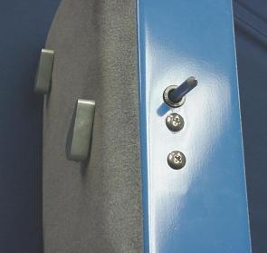 Suicide Door Safety Pin