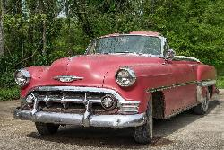 Just in ! 1953 Chevy Convertible ! Getting ready for a complete makeover !